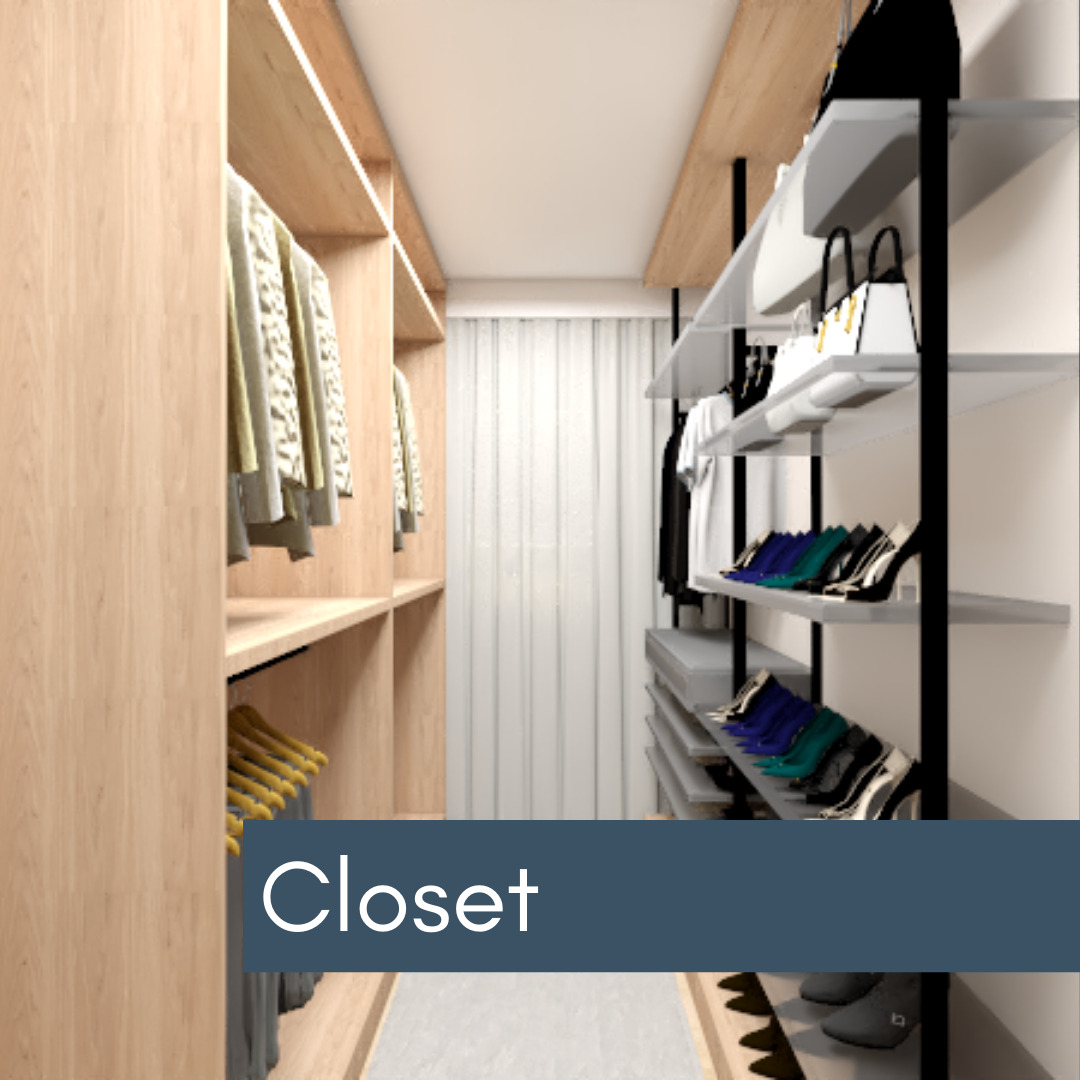 Closet - Decoração Online